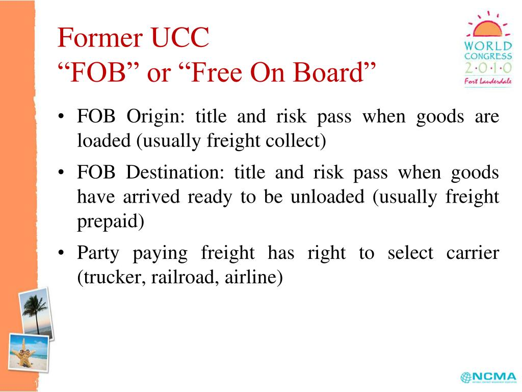 Former UCC
