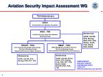 aviation security impact assessment wg