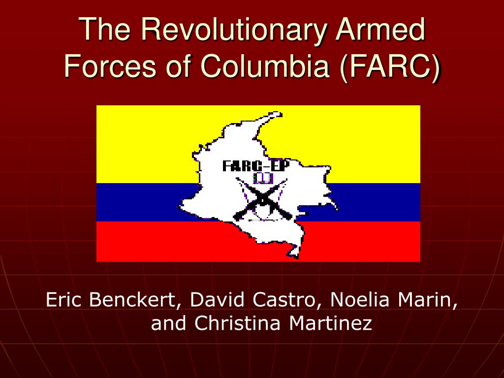 the revolutionary armed forces of columbia farc l.