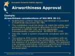airworthiness approval6