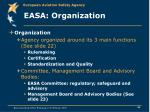 easa organization
