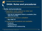 easa rules and procedures