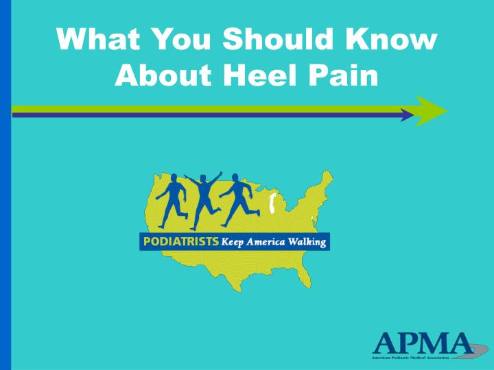 What you should know about heel pain