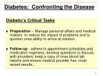diabetes confronting the disease11