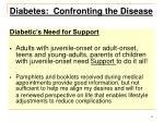 diabetes confronting the disease13