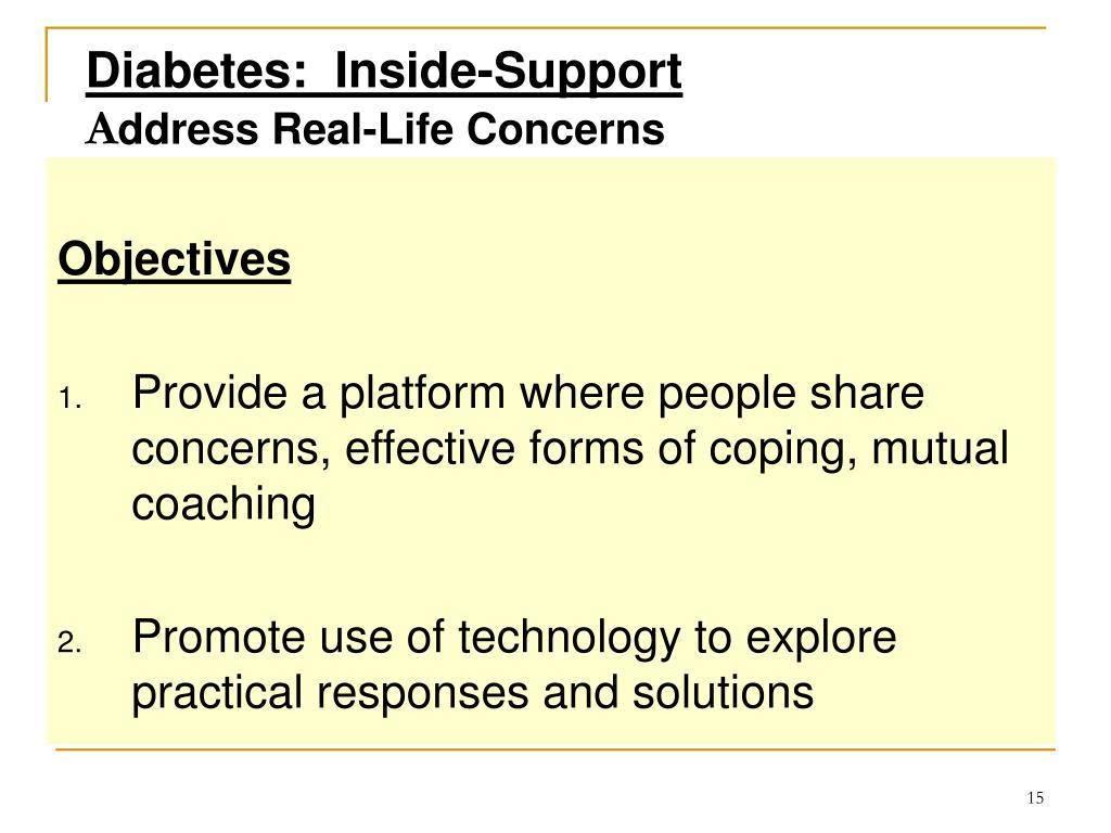 Diabetes:  Inside-Support