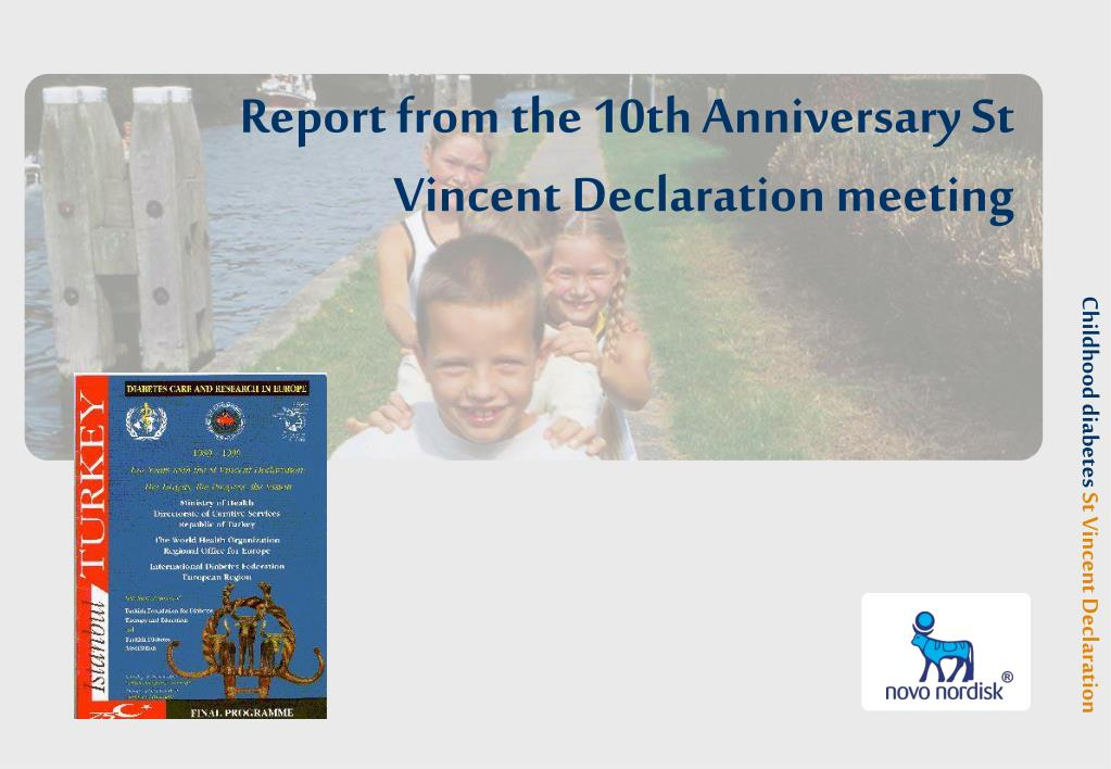 report from the 10th anniversary st vincent declaration meeting l.