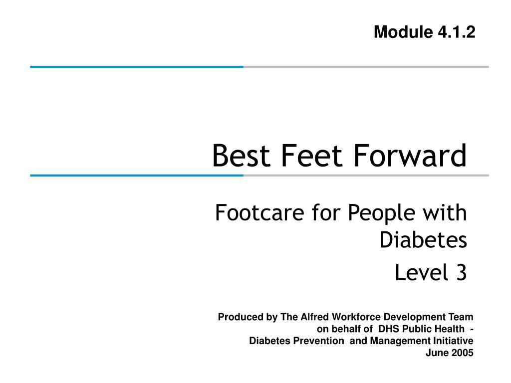 best feet forward l.