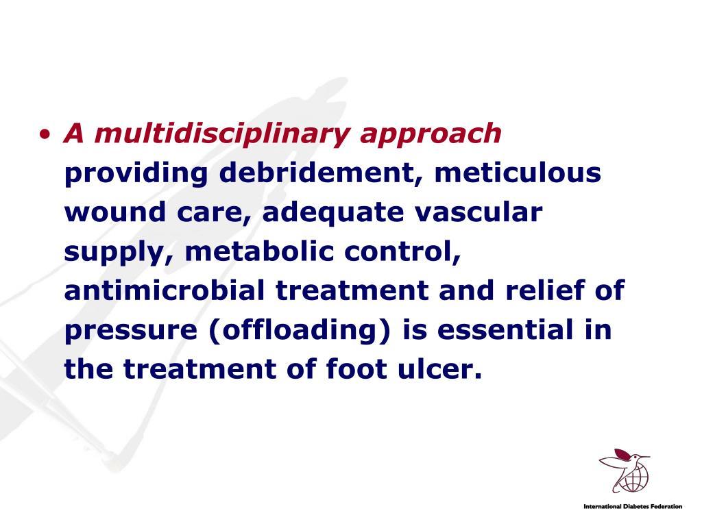 A multidisciplinary approach