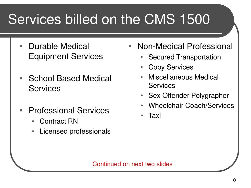 Durable Medical Equipment Services
