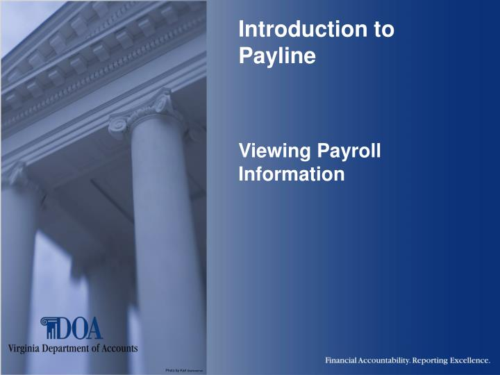 introduction to payline viewing payroll information n.