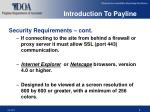 introduction to payline6