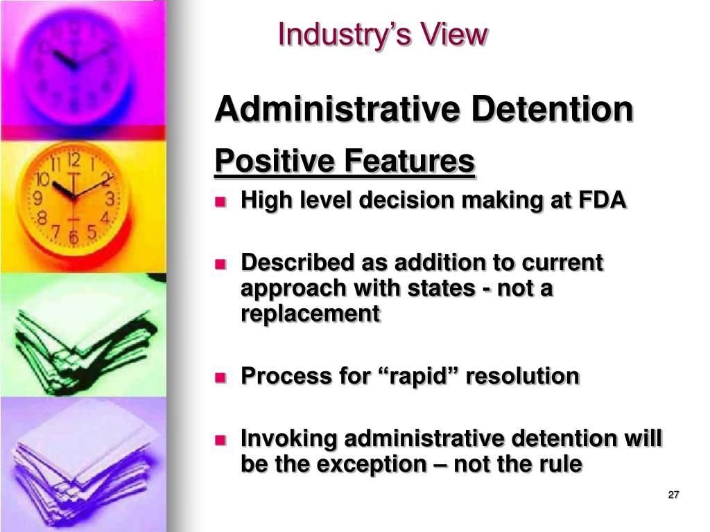 Administrative Detention