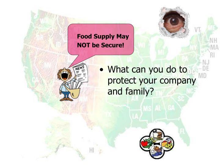 Food Supply May