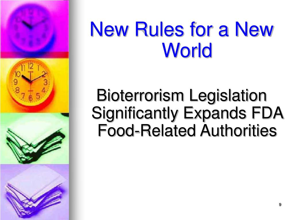 New Rules for a New World