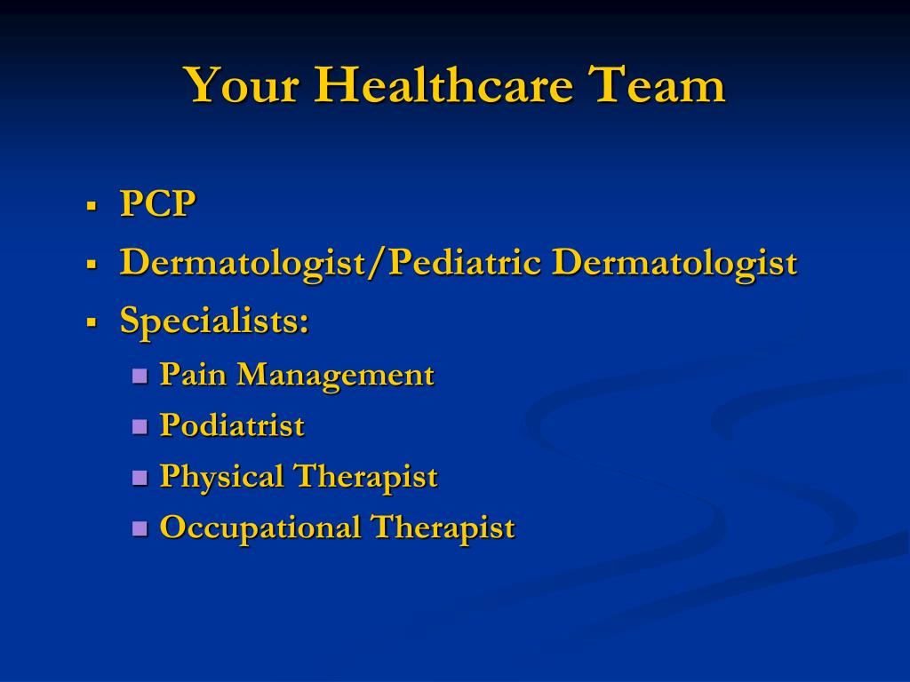 Your Healthcare Team
