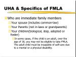 uha specifics of fmla8