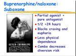 buprenorphine naloxone suboxone