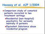 havassy et al ajp 1 2004