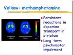 volkow methamphetamine