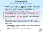 monitoring ra nice clinical guideline 79 february 2009
