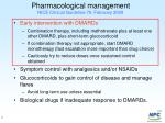 pharmacological management nice clinical guideline 79 february 2009