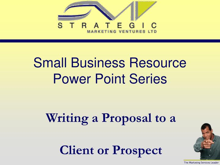 small business resource power point series n.