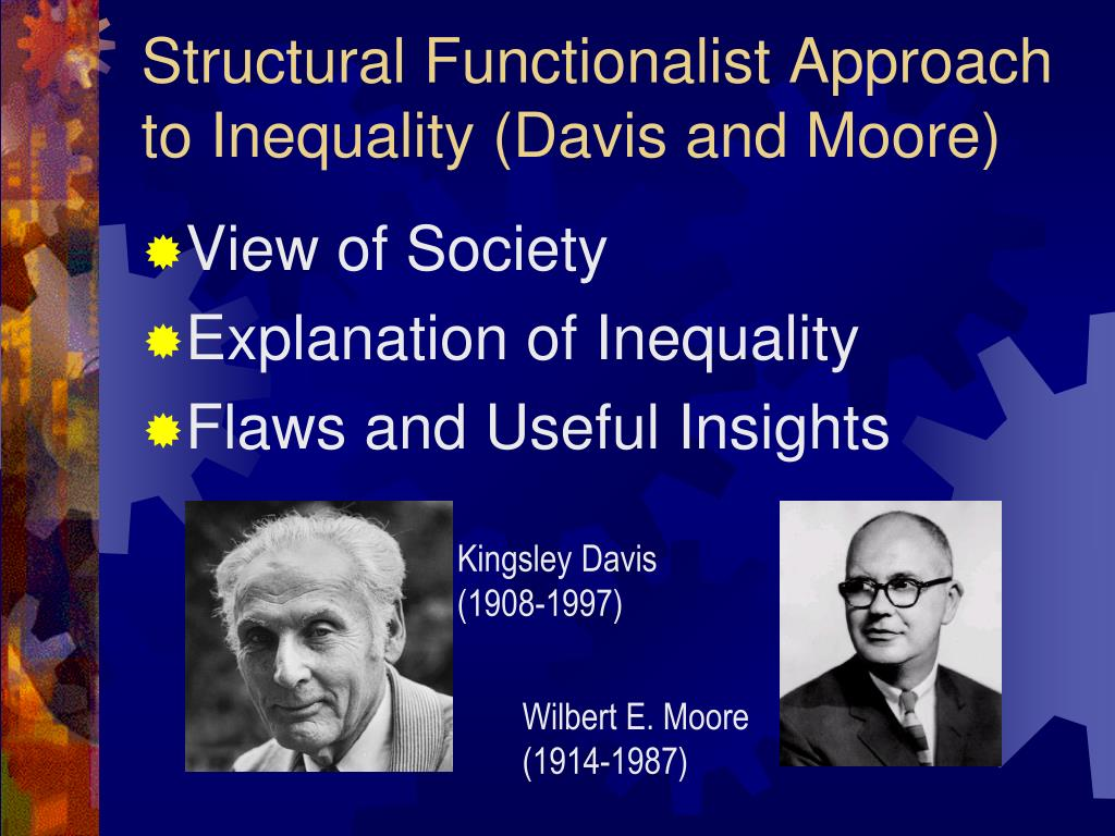 poverty structural functionalist Sociological theories of poverty 1structural functional theory of poverty • everything in society has a purpose and a function • poverty and inequality serve a specific function in.