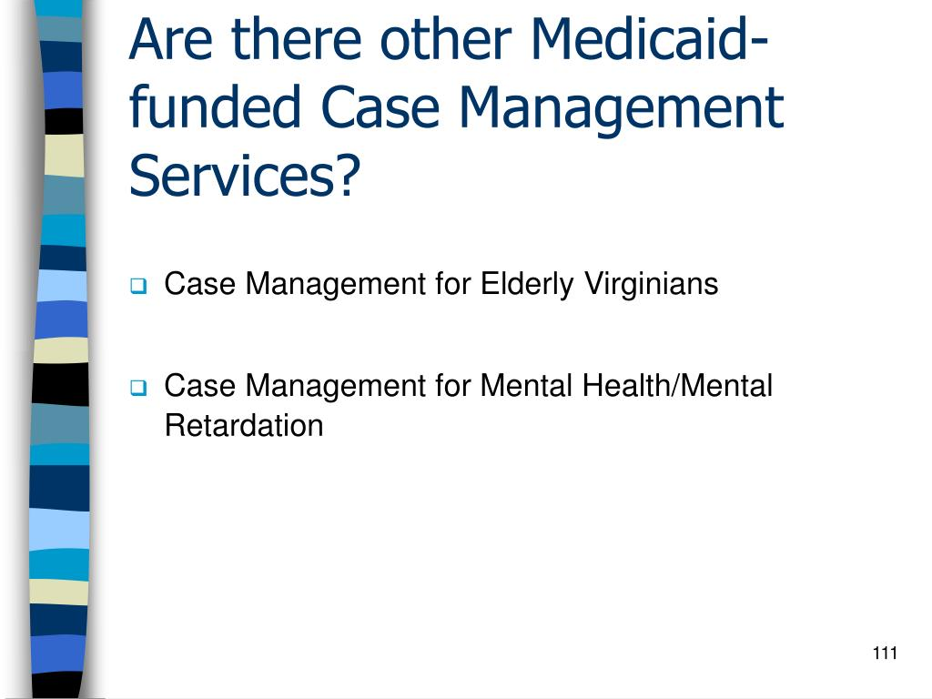 Are there other Medicaid-funded Case Management Services?
