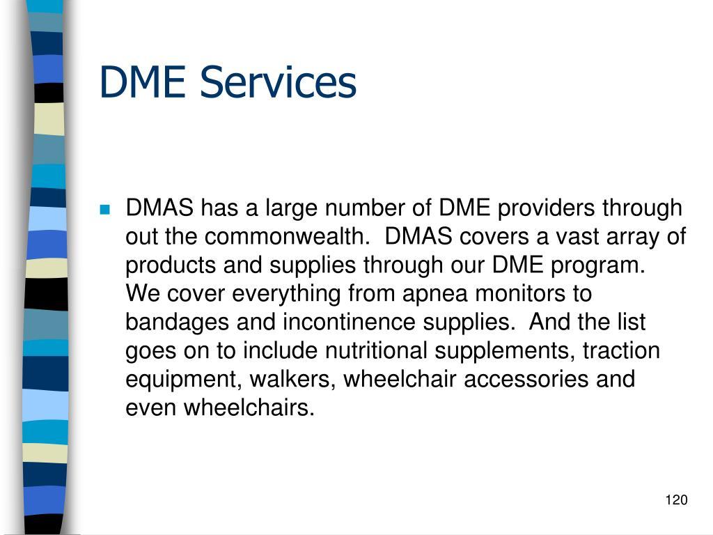 DME Services