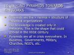 10 beyond pyramids towards networks