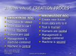 2 new value creation proces