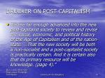 drucker on post capitalism