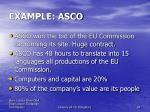 example asco