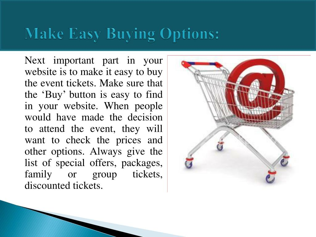 Make Easy Buying Options