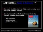 abi inform trade industry
