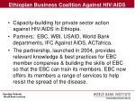 ethiopian business coalition against hiv aids