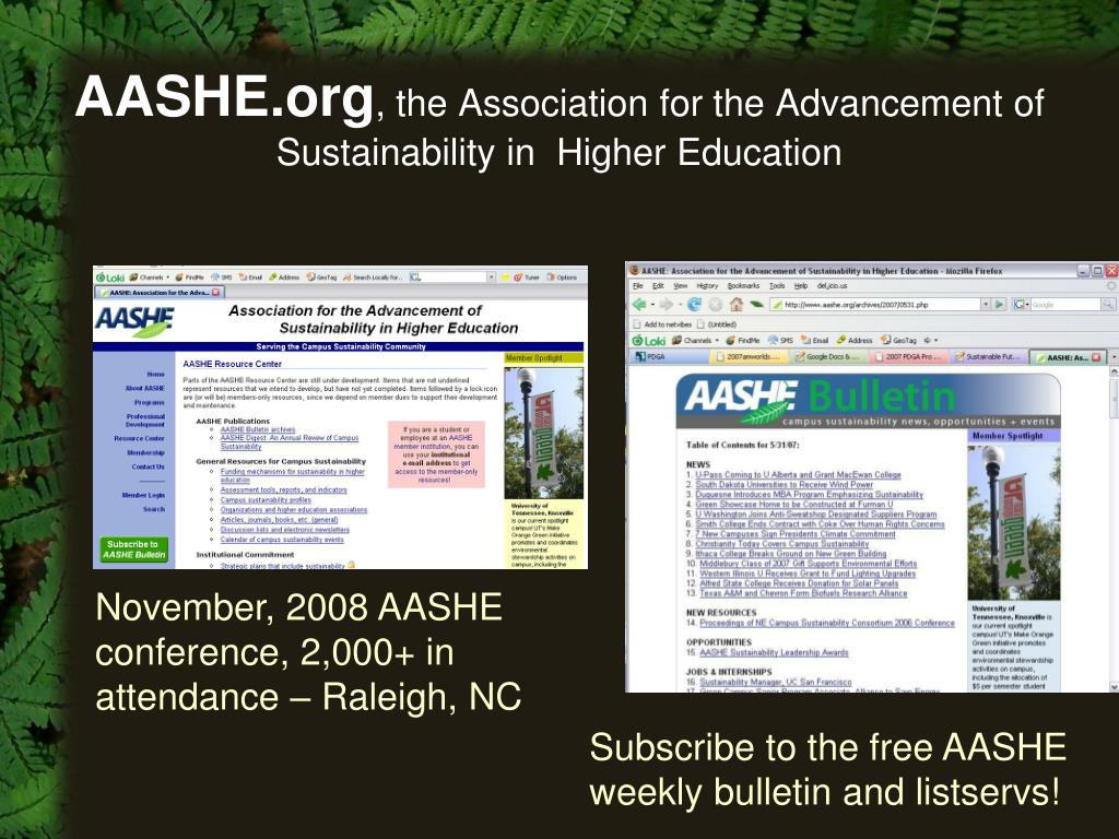 AASHE.org