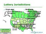 lottery jurisdictions