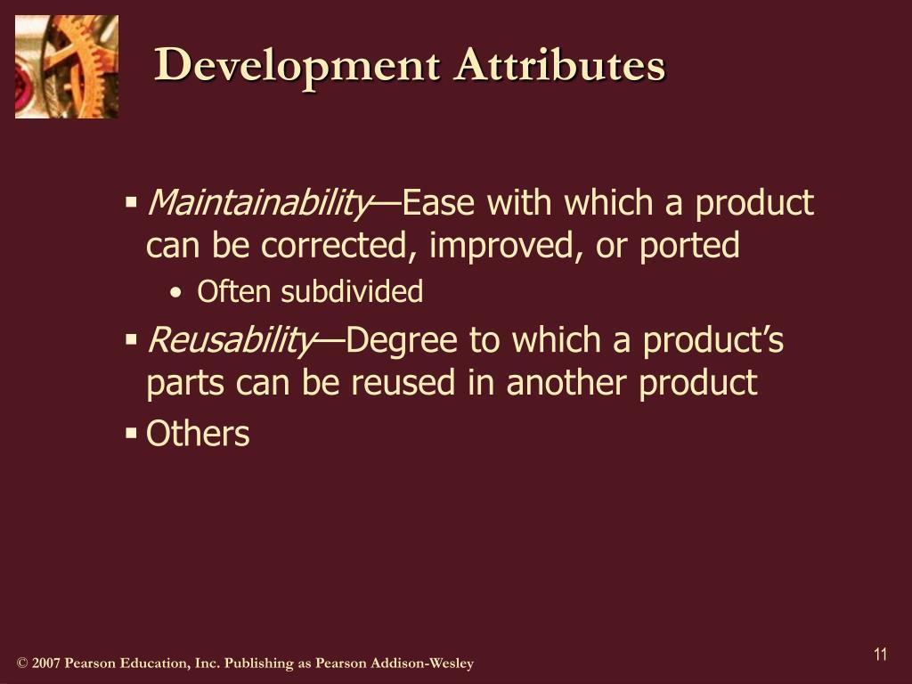Development Attributes