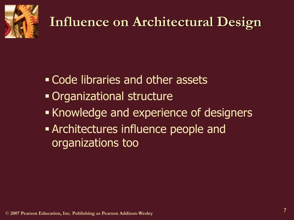 Influence on Architectural Design