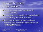 business society a new relation