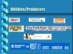utilities producers