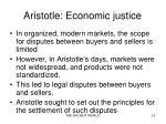 aristotle economic justice