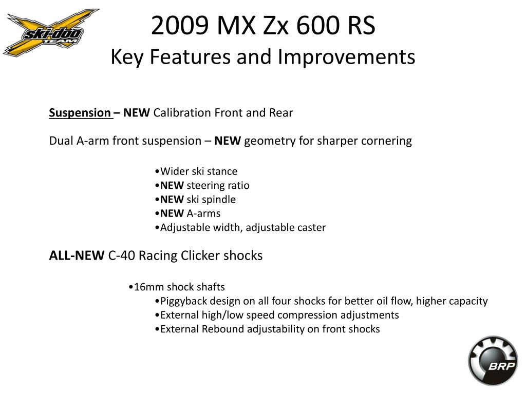 2009 MX Zx 600 RS