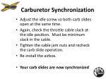 carburetor synchronization16