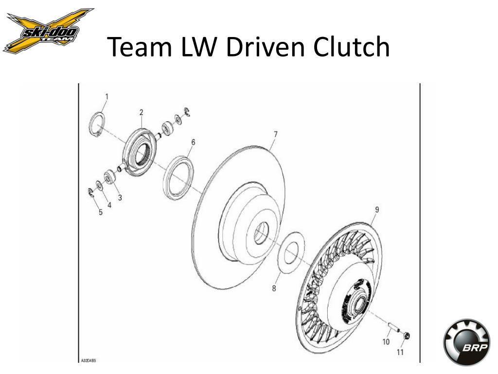 Team LW Driven Clutch