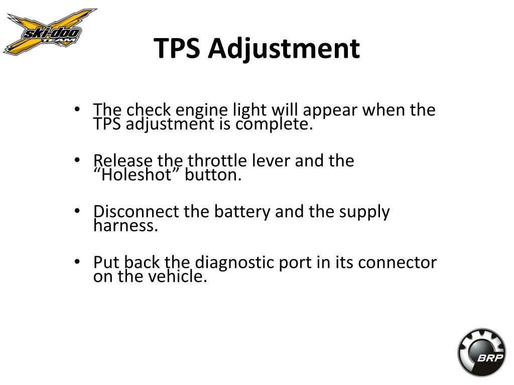 TPS Adjustment