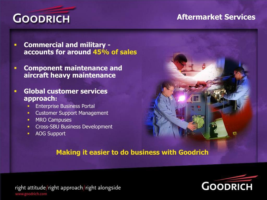 Aftermarket Services