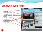 analyse web text35